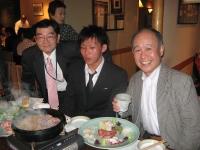 2009年4月 柔道部OBによる新人歓迎会