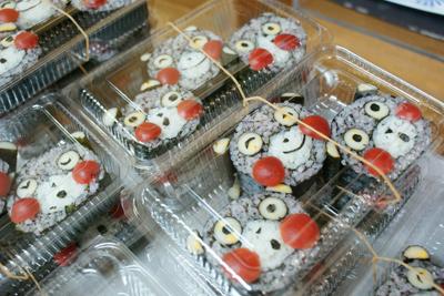 くまモン飾り寿司
