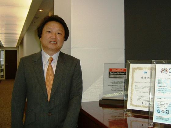 グローバルシステムクリエイト 田中寛利社長